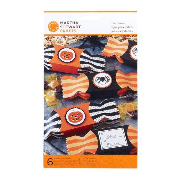 Martha Stewart Craft MSC Carnival Candy Wrapper Treat Boxes