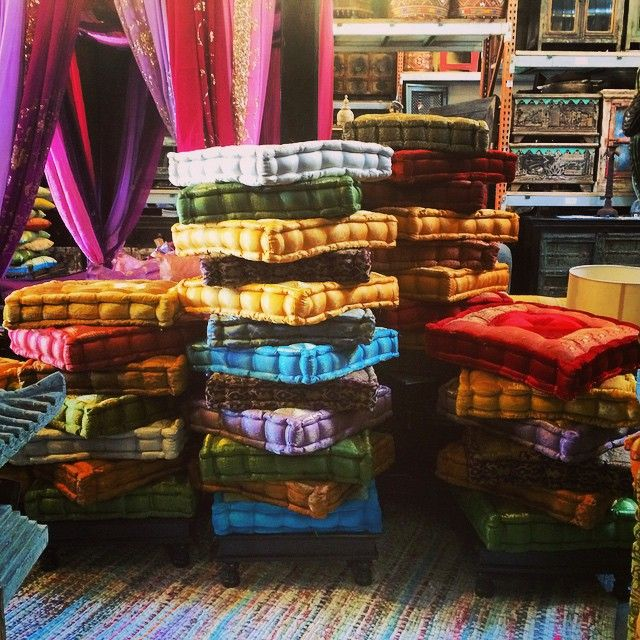 Large Lounge Floor Pillows : Meditation tufted floor cushions. We have large selection. visit our website #meditation # ...