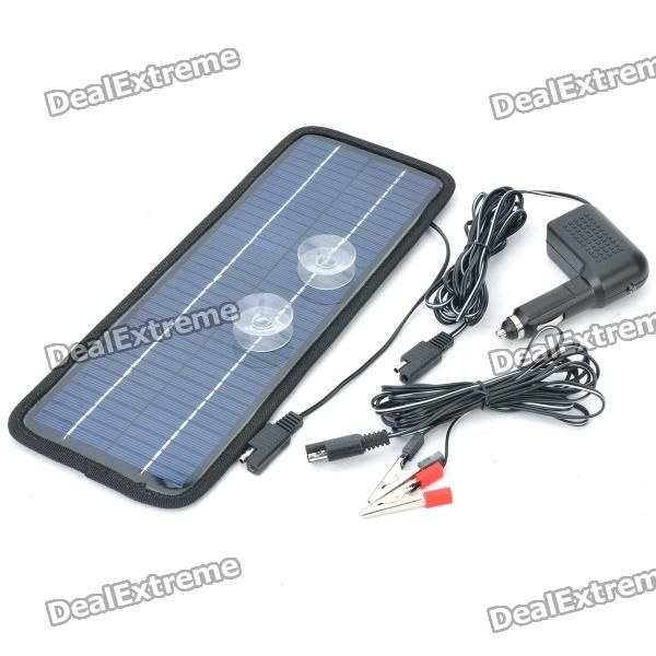 24V 4.5W Solar Power Panel Auto Car Battery Charger $36.30