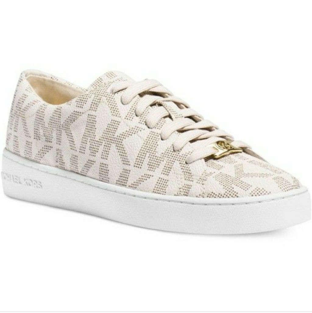 New Michael Kors Mk Logo Shoes