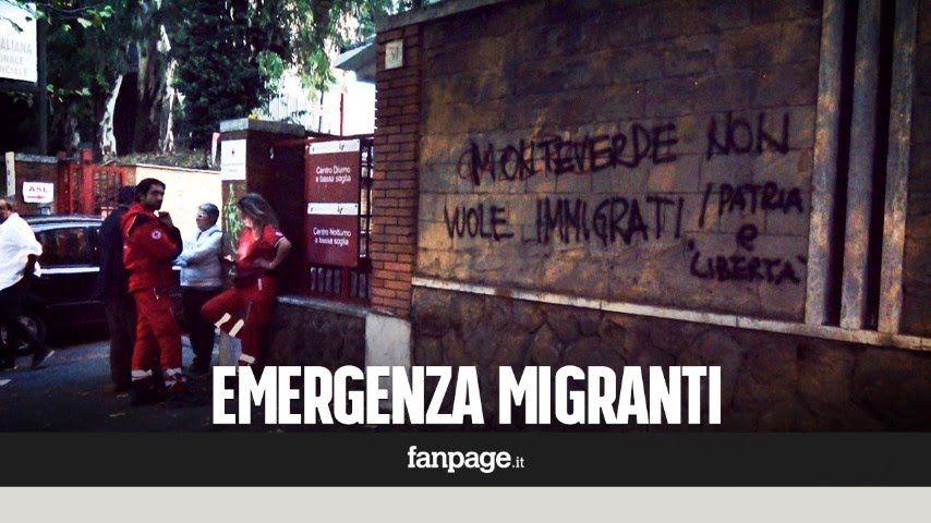 """Nuova tendopoli a Roma, l'ira dei residenti: """"Abbiamo paura di uscire la..."""
