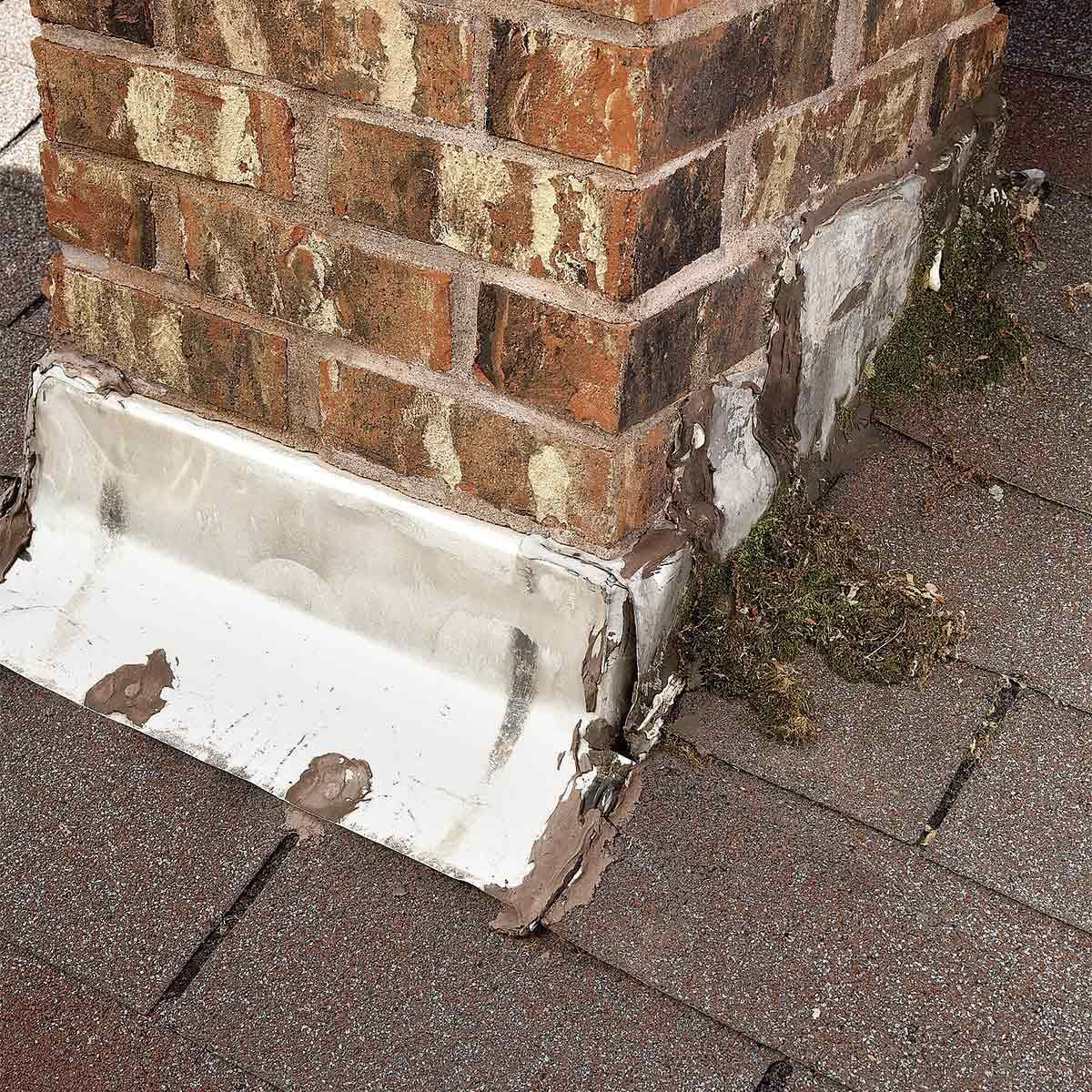 15 Silent Signs That Your Roof Is Failing Leaking Roof Roof Repair Brick Chimney
