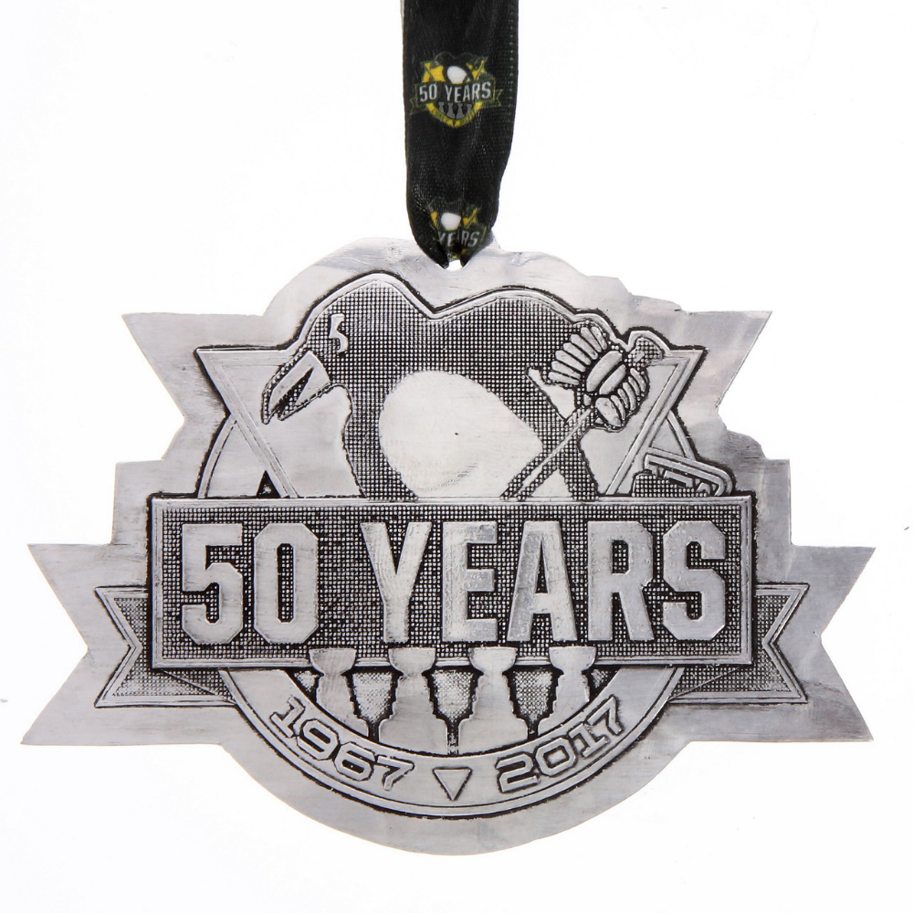 Pittsburgh Penguins 50th Anniversary Collector's Ornament ...
