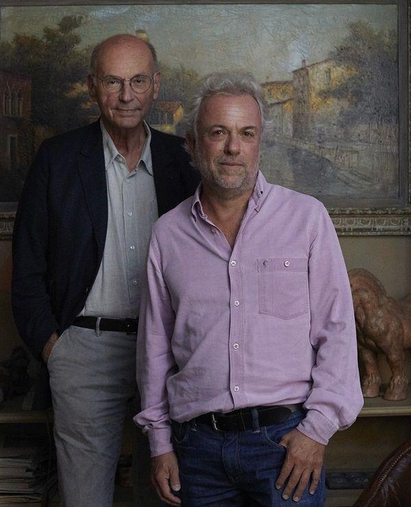 Boris Cyrulnik et Frédéric Lenoir (crédits : Aglaé Bory ...