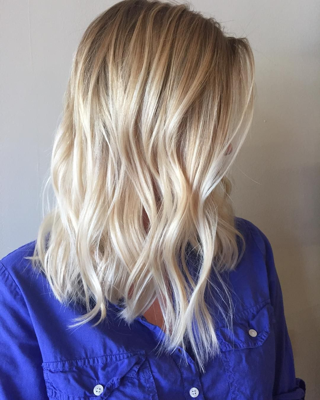 alluring long bob hairstyles you must try this summer blonde