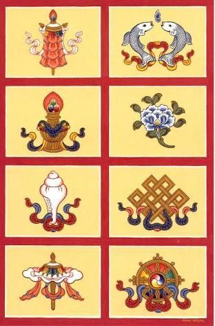 Image Result For 8 Tibetan Buddhist Symbols Buddhist Symbols