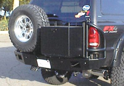 Rear Bumper Ford Excursion, 99-04 with Swing Arms & Brush ...