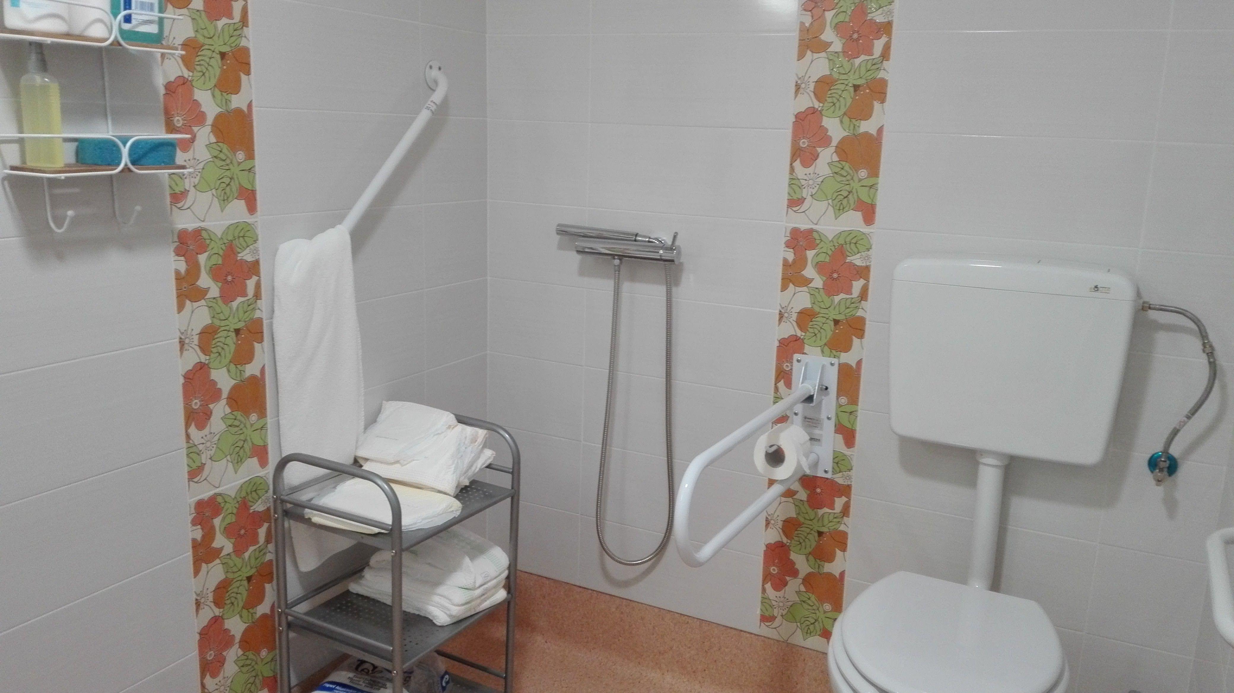Detalle cuarto de baño adaptado (con imágenes) | Cuarto de ...
