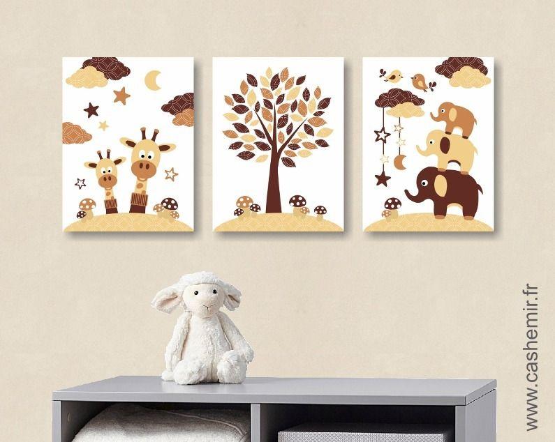 Affiche Pour Bébé Enfant Illustration Bébé Poster Garçon