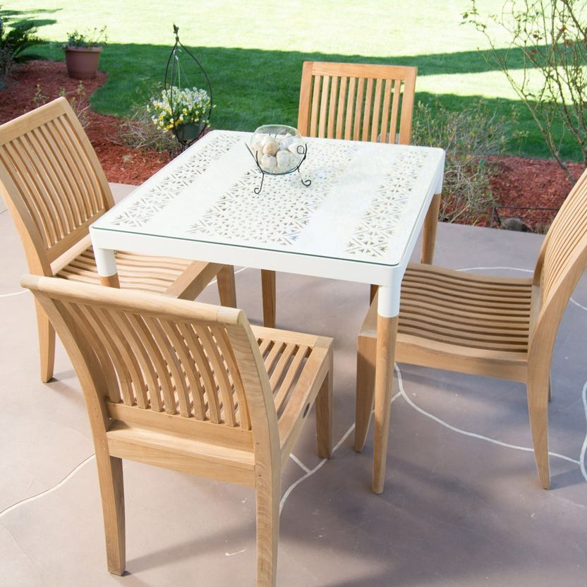 Laguna Contemporary Teak Dining Side Chair Teak Outdoor Furniture Mesmerizing Modern Teak Outdoor Furniture