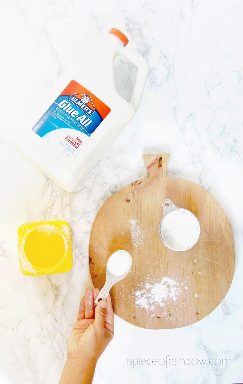 2 Best DIY Air Dry Clay Recipes {Better Than Salt Dough