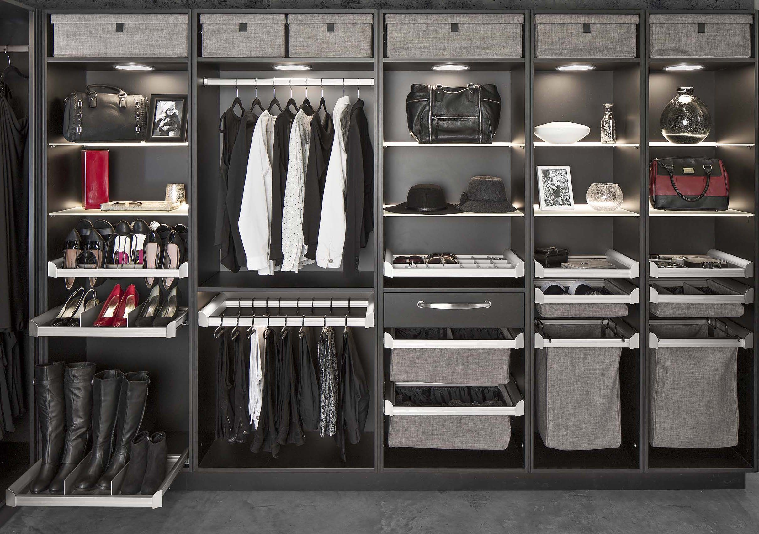 Hafele Closet I Really Like How Clean This Looks Hafele Smart Closet Closet Storage Systems