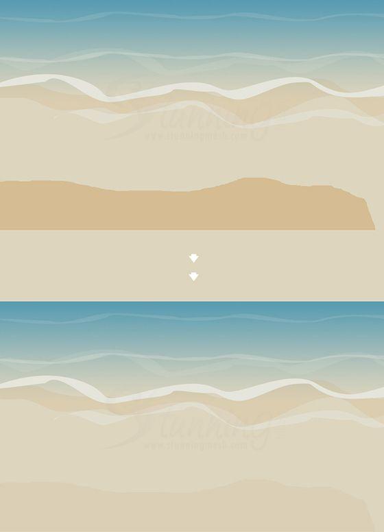 Beach Background Wallpaper Design In Photoshop Tutorial Designer Wallpaper Beach Background Wallpaper