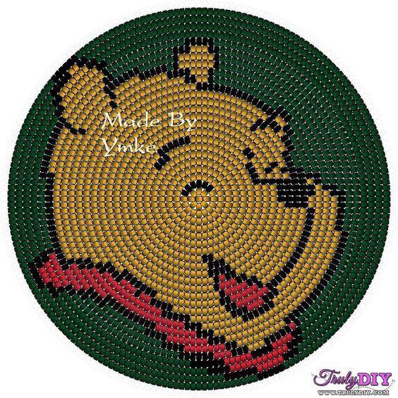 Winnie the pooh wayuu mochila pattern crochet bolsos - Alfombra winnie the pooh ...