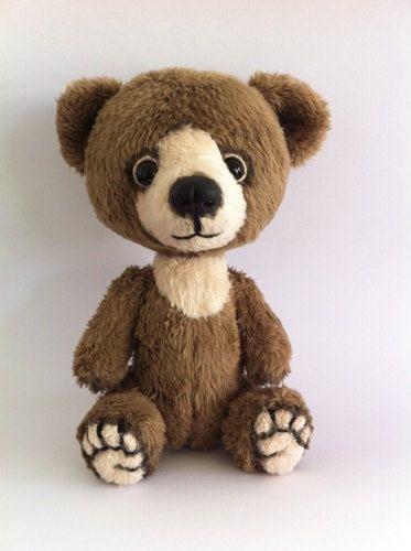 Teddy Bear Cappuccino. Miniature teddy bear. by TeddyRusaLena