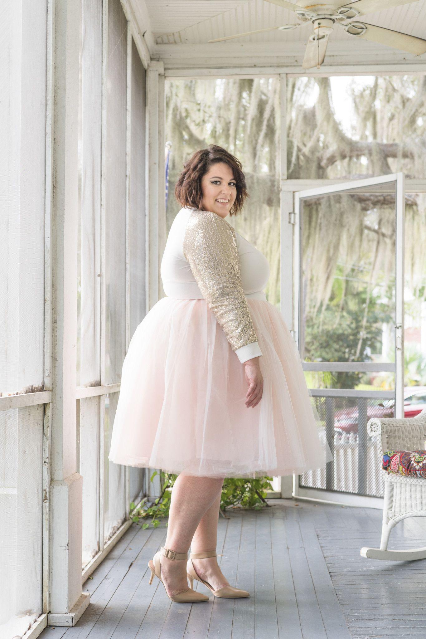2e7a7021 Plus Size Clothing for Women - Loey Lane Premium Tutu - Blush (Sizes 1X -  6X) - Society+ - Society Plus - Buy Online Now! - 2