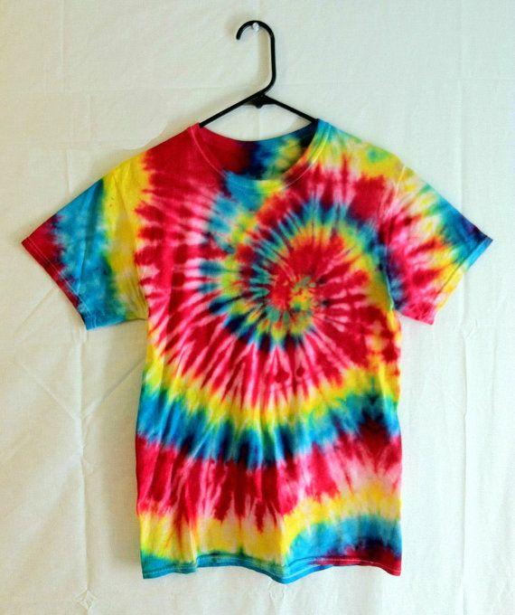 972d82234f24 Tie Dye Tshirt Featival Wear and Fashion by RainbowEffectsTieDye, $13.00