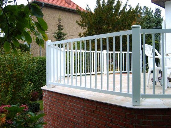 Holzgeländer für Terrasse (Aber in Dunkelbraun) Dachterrasse - terrassen gelander design