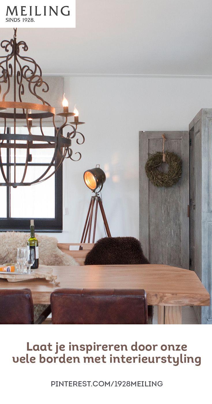 Laat je inspireren door de vele borden van Meiling met allerlei mooie woonideeën en interieurstyling!