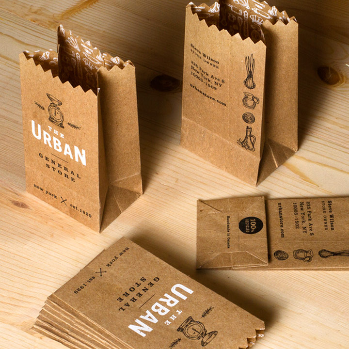 40 Most Creative Business Cards That Are Sure To Get Noticed Business Cards Creative Printing Business Cards Bag Business Cards