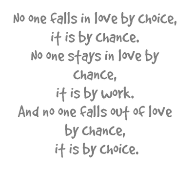 no one falls in love by choice