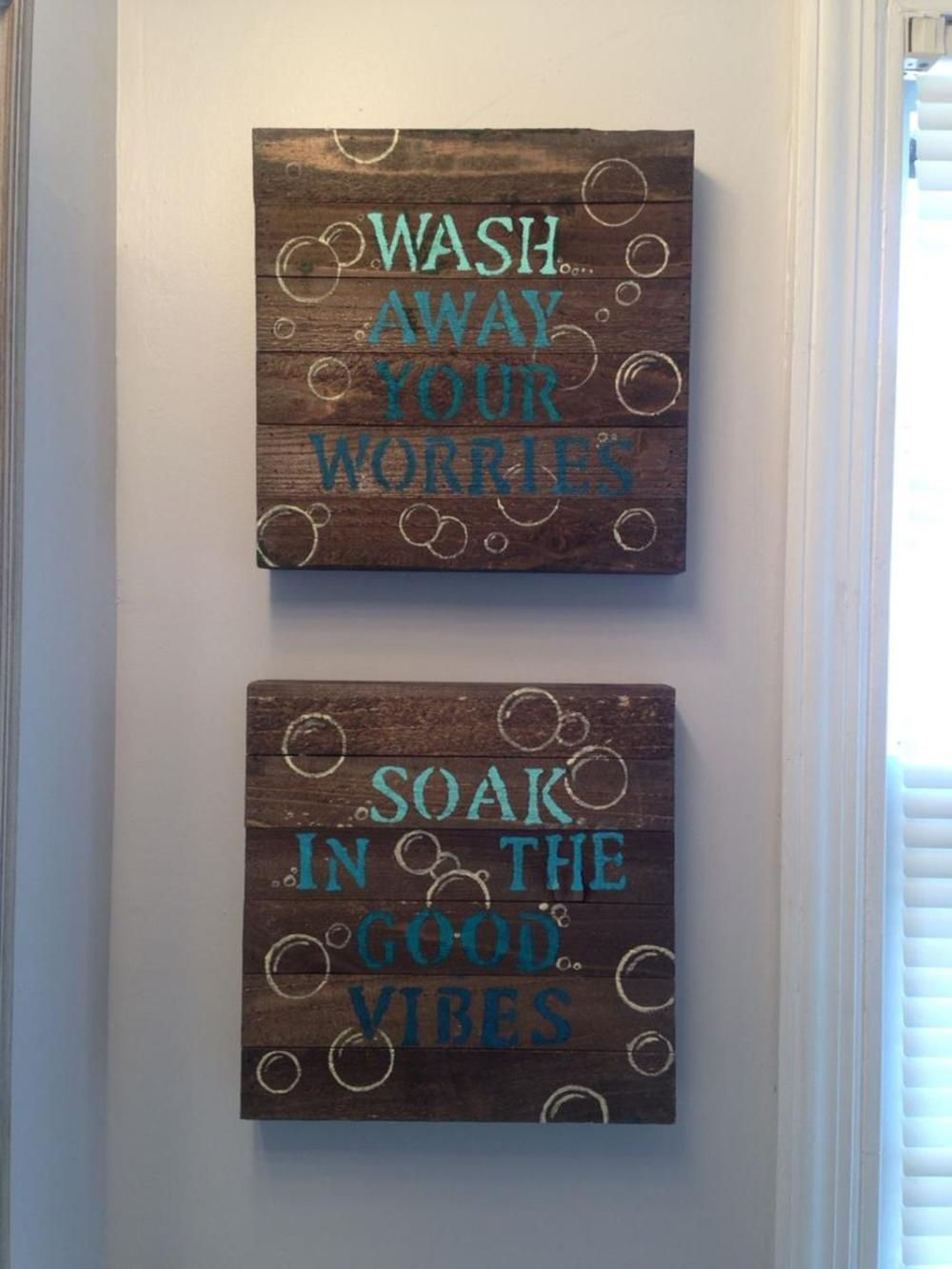 43 Simple But Beautiful Bathroom Wall Art And Decor