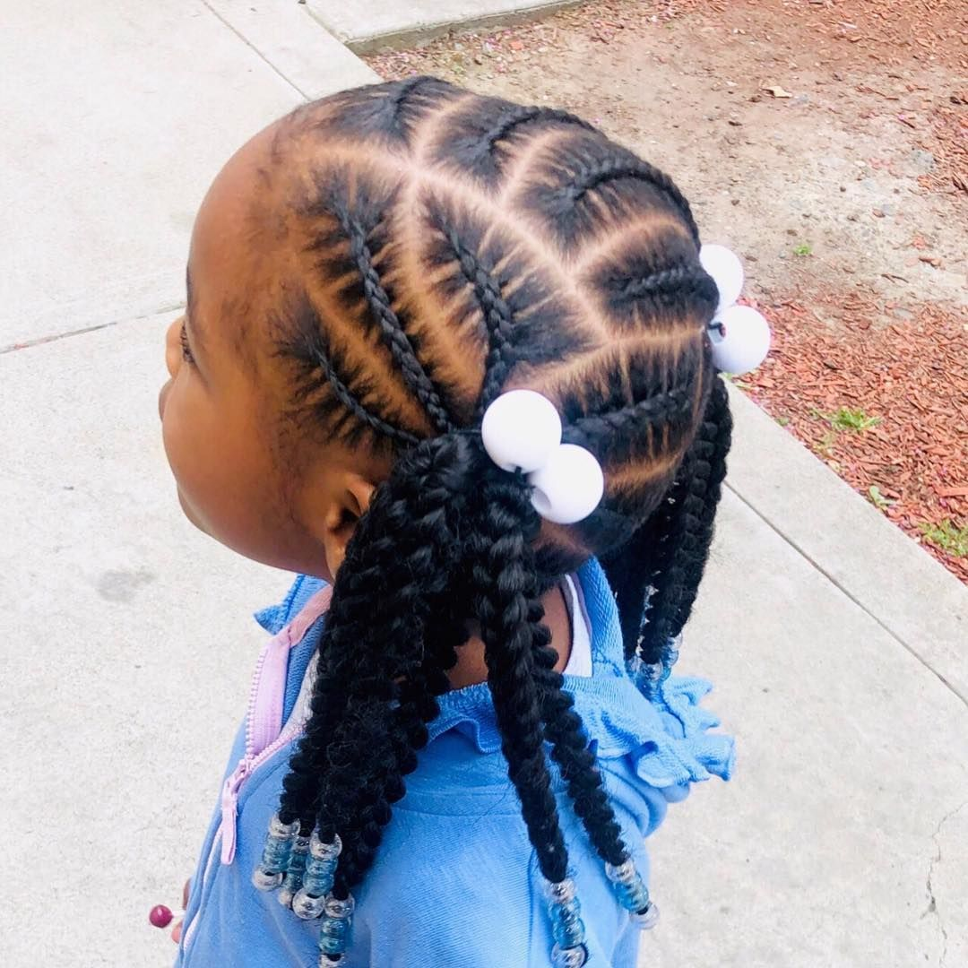 Shea Matthews On Instagram Loving These Low Ponytails Kids Hairstyles Hair Styles Lil Girl Hairstyles