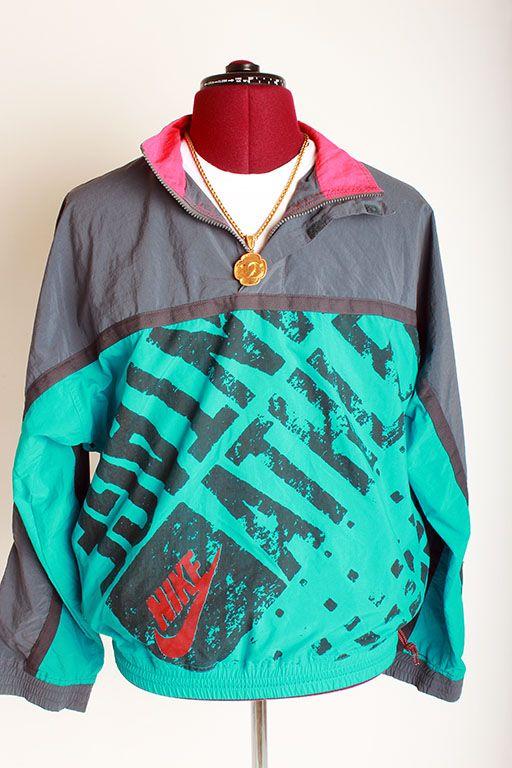 Vintage Nike Mens Half-Zip Pullover Windbreaker