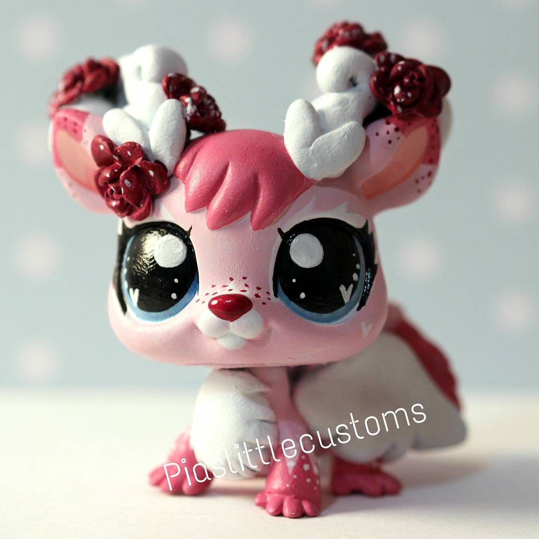 """""""Flurry - my little LPS custom #500 She's my OC Freckles' little sister ^_^ Not for sale! I put up a little video of how I made her (link in bio)! Hope…"""""""