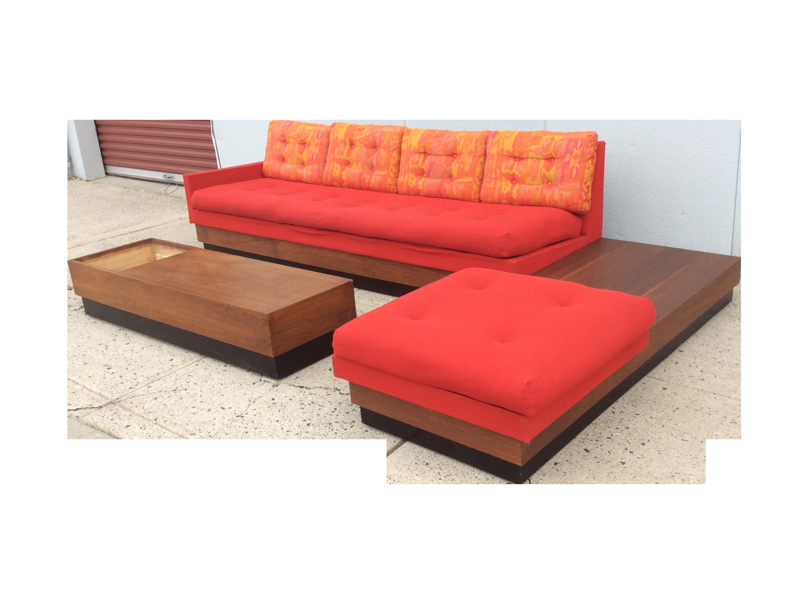 Adrian Pearsall L Shape Platform Sofa Decor Pinterest