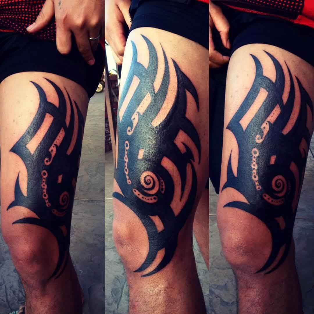 15+ Astonishing Tribal thigh tattoos female ideas in 2021