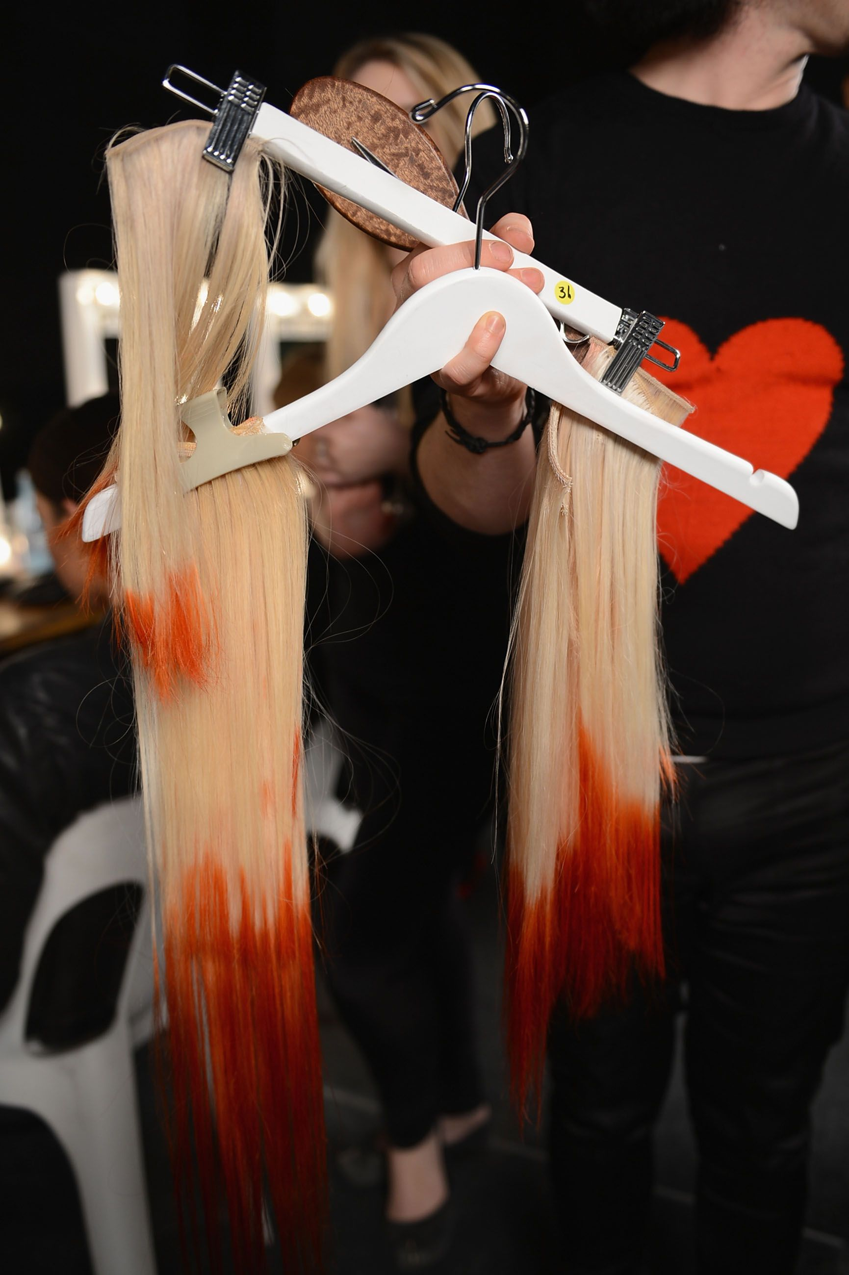 Ombre hair pieces used at the Myer Spring Summer Collection Launch #MyerSS13