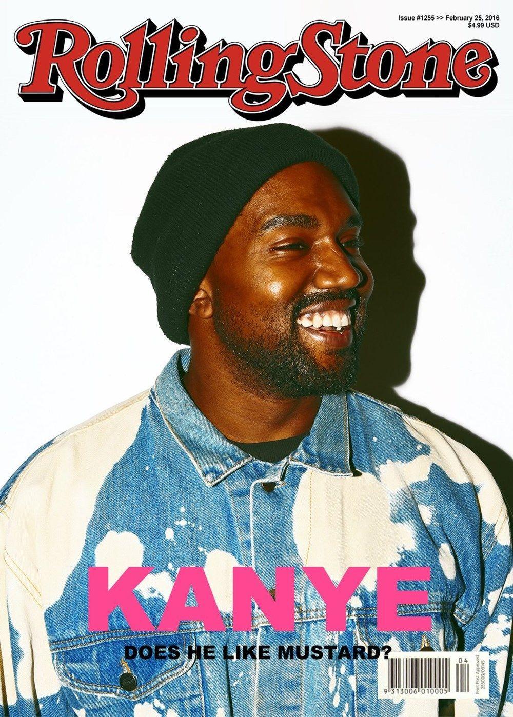 Kanye West In 2020 Rolling Stone Magazine Cover Kanye West New Kanye