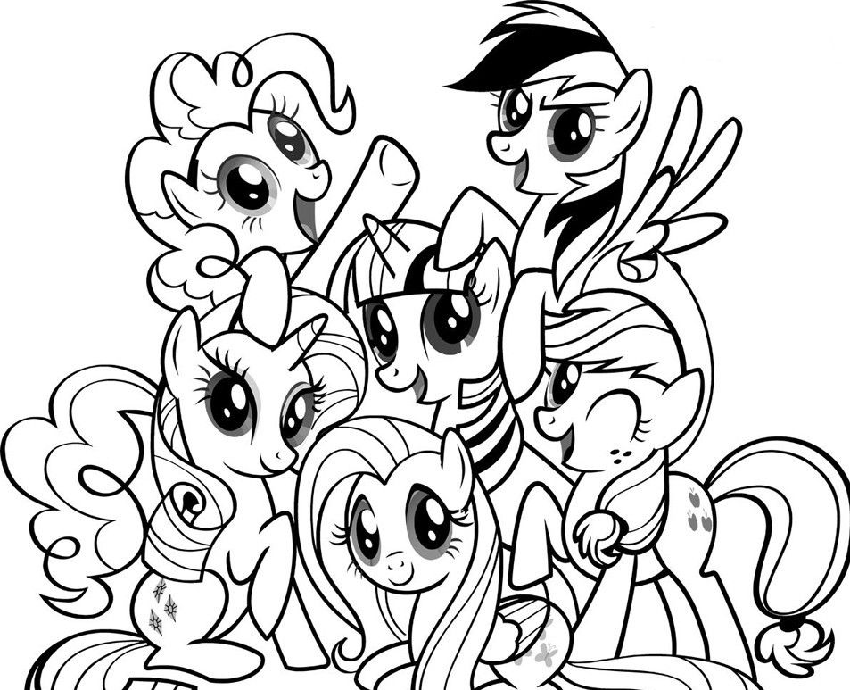 _^) My Little Pony Coloring Pages | ColoringMates. | JMK | Pinterest