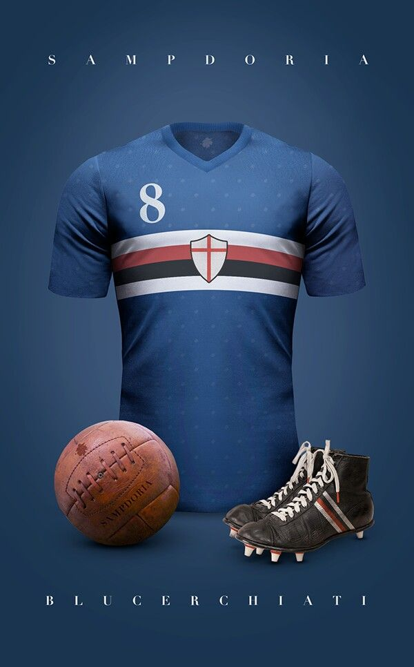 U C Sampdoria Spa Classic Football Shirts Vintage Football Vintage Football Shirts