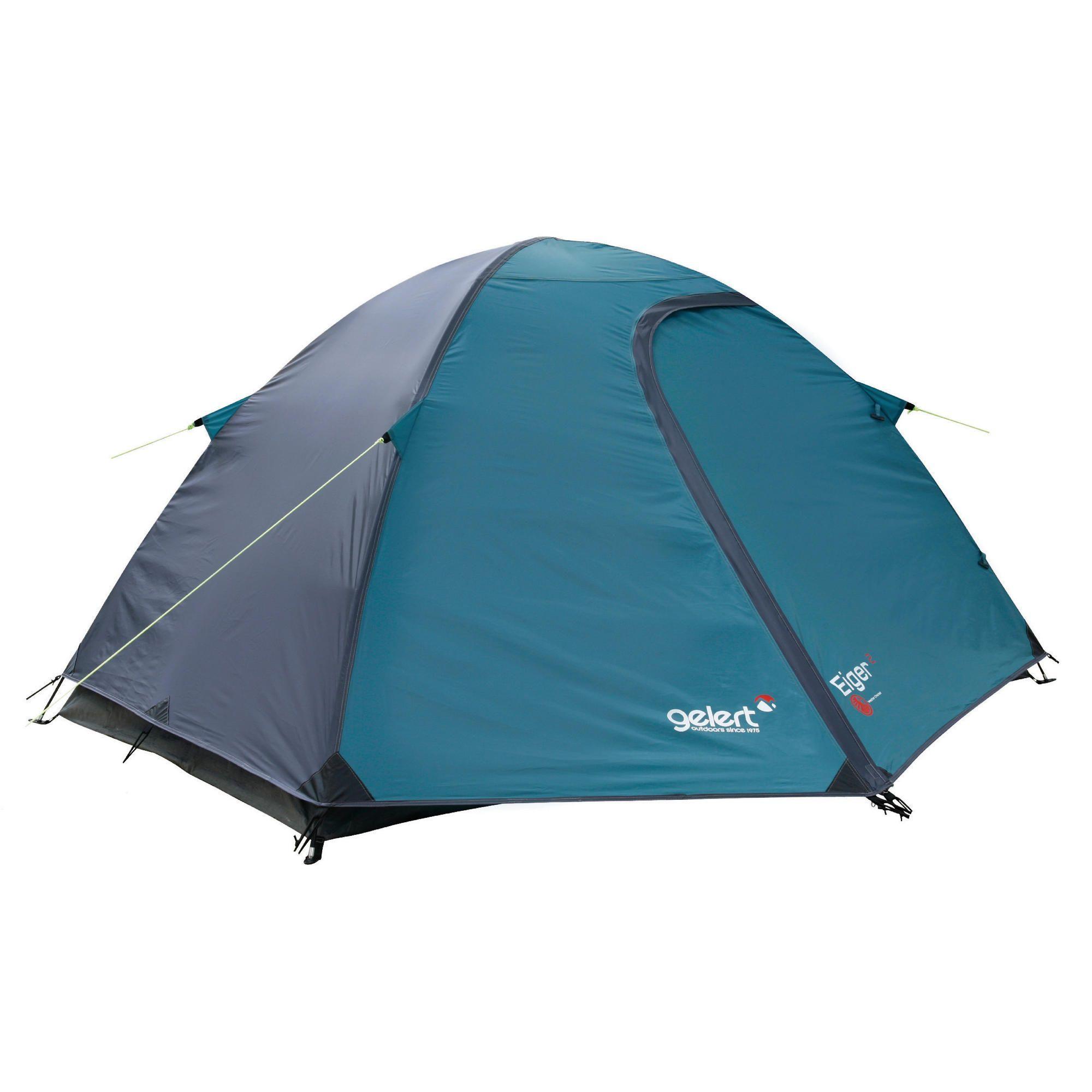 Gelert Eiger 2 Man Dome Tent Charcoal  sc 1 st  Pinterest & Gelert Eiger 2 Man Dome Tent Charcoal | Random Things | Pinterest ...