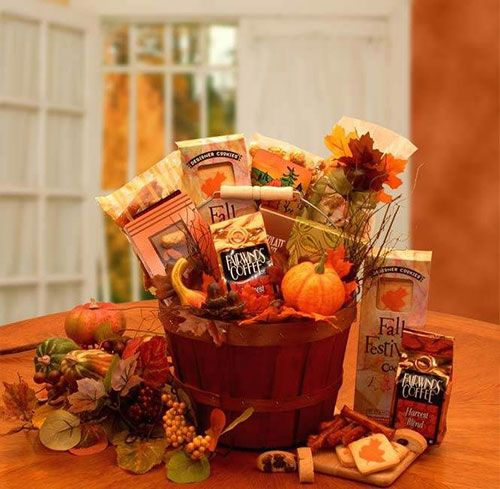 How to: Thanksgiving Gift Baskets More