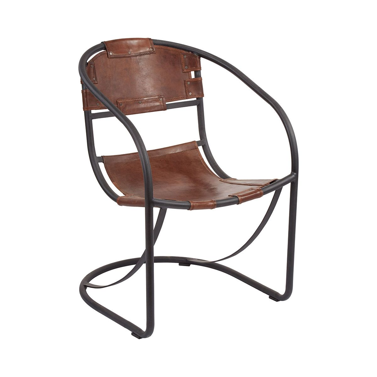 a modern industrial take on the iconic leather lounge chair the  - a modern industrial take on the iconic leather lounge chair theinnovative tyson leather accent chair will make a handsome addition to yourcontemporary