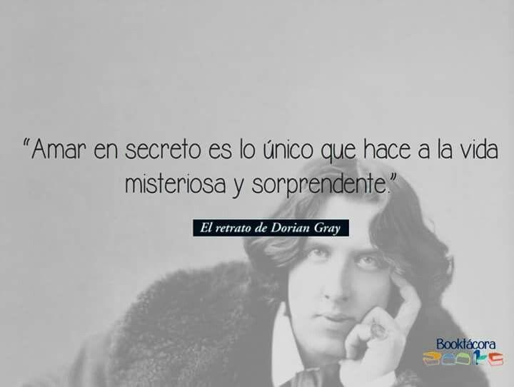 Frases Libro El Retrato De Dorian Gray Oscar Wilde Personas