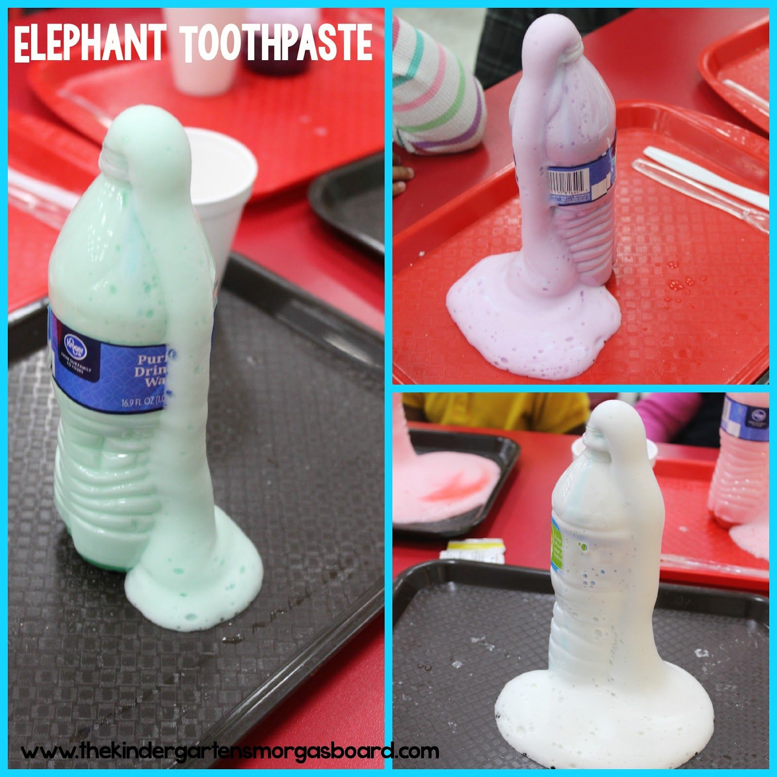 Mad Science Experiment Elephant Toothpaste