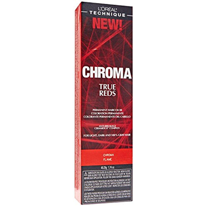 Loreal Chroma True Reds Hair Color
