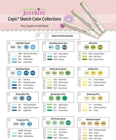 copic coloring guide free download