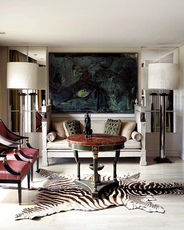 zebra modern living room ideas 2020 | Living room / modern / interior design & decor / Neutral ...