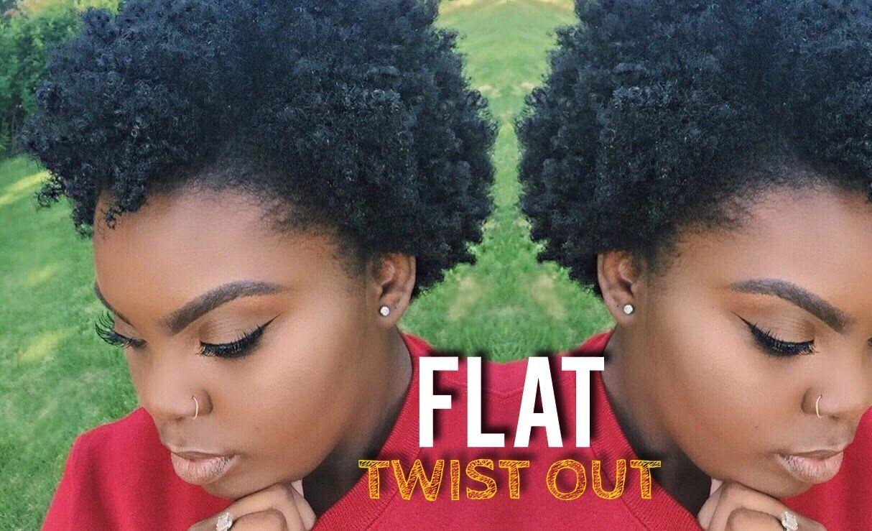 Flat Twist Out On Short To Medium Natural 4c Hair Joynavon Youtube Kapsels Haar