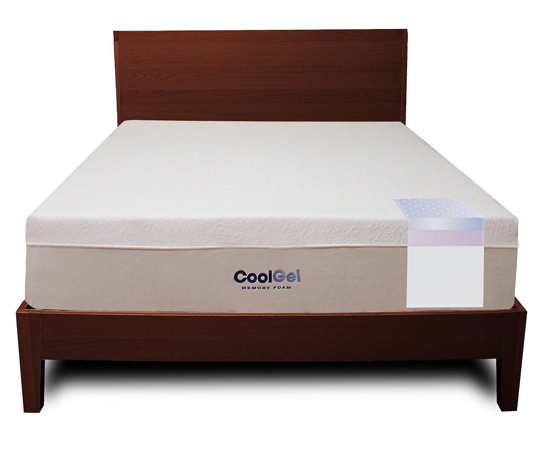 Classic Brands Cool Gel 12 Inch Ventilated Gel Memory Foam