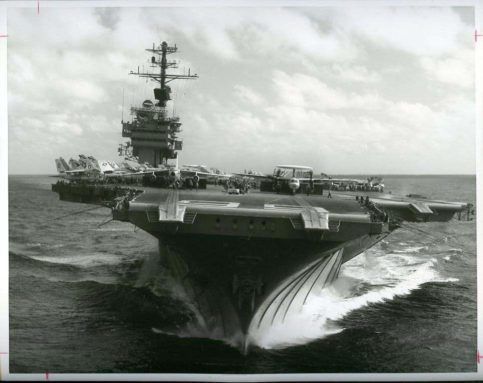 uss america  cv 66  circa 1970