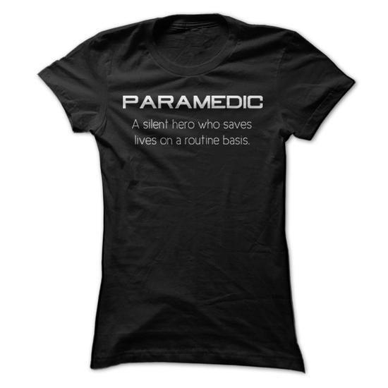 Awesome Tee Awesome Paramedic Shirt TShirts Tee Tshirt Job