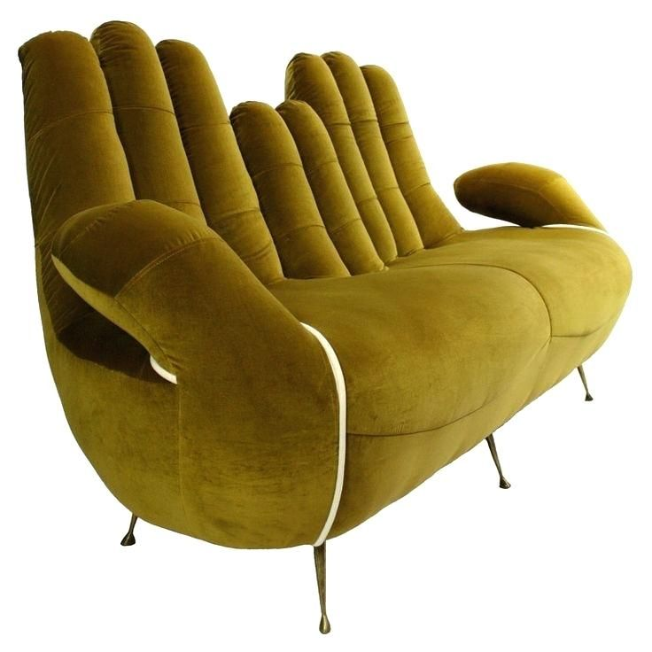 Unusual Shaped Sofas An Sofa In The Form Of Cupped Have To Put This By Lip Upholstery Funky Furniture Interiors And Uk
