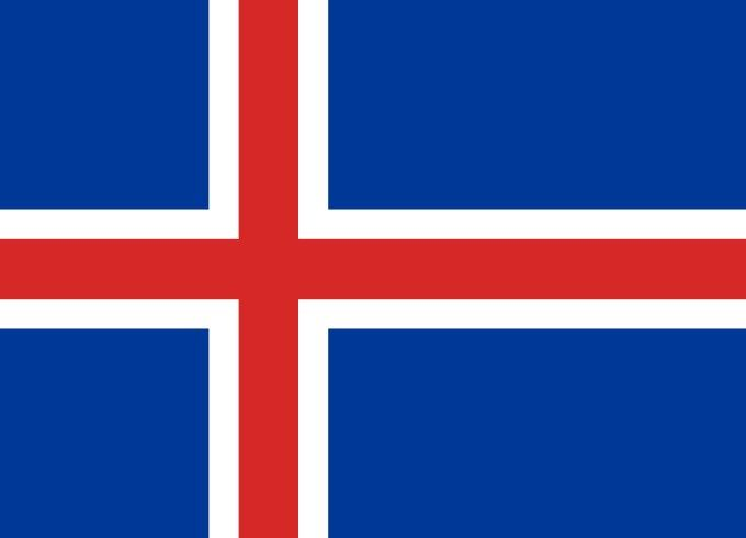 This Is The National Flag Of Iceland A Small Island Country In Europe Want To Learn More Check Out These Iceland Maps Iceland Flag Iceland Iceland Facts