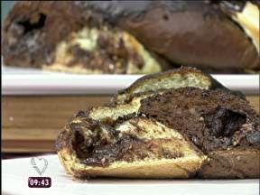 Trança de Chocolate com Bombons Ana Maria ensina a fazer esta delícia de chocolate